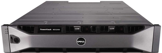 Dell PowerVault MD3220i iSCSI SAN Storage Array