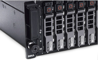 "Mix 3.5"" and 2.5"" SAS, near-line SAS and solid-state drives to optimize your SAN."