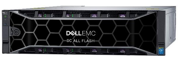Dell EMC SC7020F All-Flash Storage Array