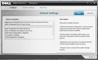 Dell Data Protection | Encryption Personal Edition Screenshot