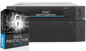 EMC Data Protection Suite and Data Domain DD2500 Bundle